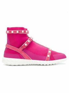 Valentino Rockstud Bodytech sneakers - PINK