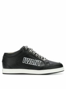 Jimmy Choo Miami sneakers - Black