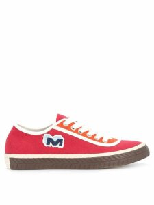 Marni lace up sneakers - Red