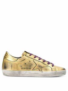Golden Goose Superstar sneakers - Metallic