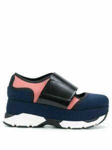 Marni Arial platform sneakers - Blue