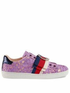 Gucci Ace lace sneakers - Pink