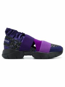 Emilio Pucci City Up slip-on sneakers - Purple