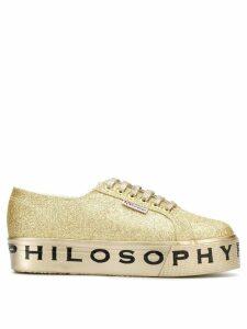 Philosophy Di Lorenzo Serafini Superga flatform glitter sneakers -