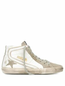 Golden Goose 'Slide' hi-top sneakers - White