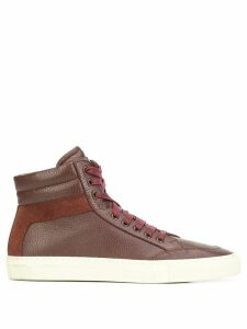 Koio The Primo Marsala hi-top sneakers - Red