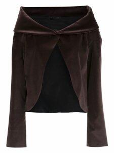 Gloria Coelho Kimono oversized cardigan - Brown