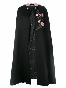 Macgraw Coterie cape - Black
