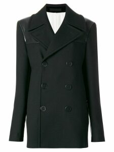 Alexander McQueen double breasted peacoat - Black