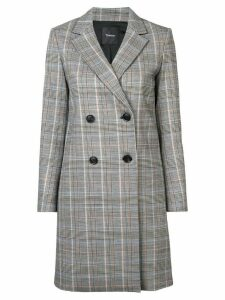 Theory double breasted coat - Multicolour