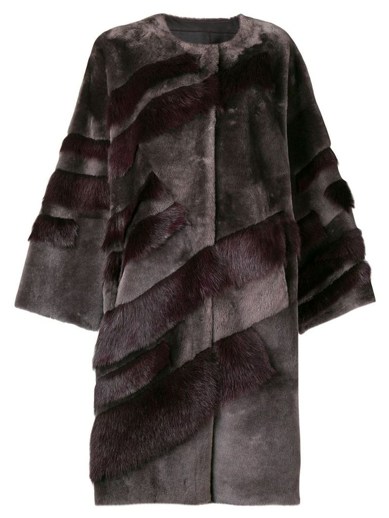 Liska longsleeved winter jacket - Grey