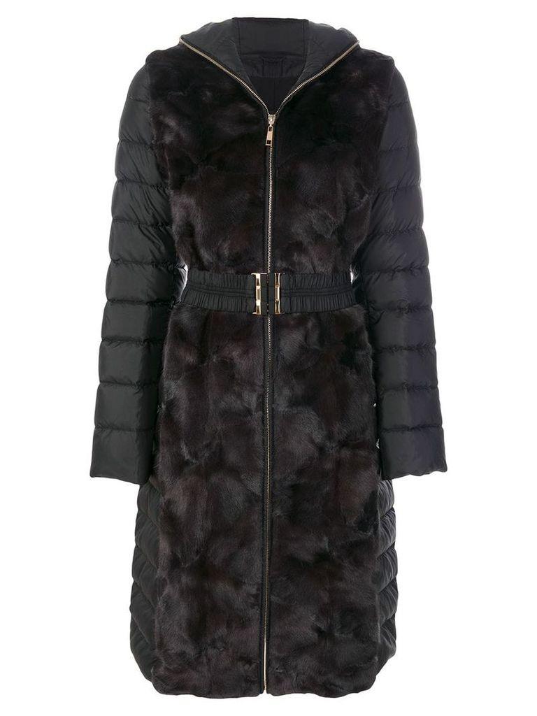 Liska hooded padded jacket - Black