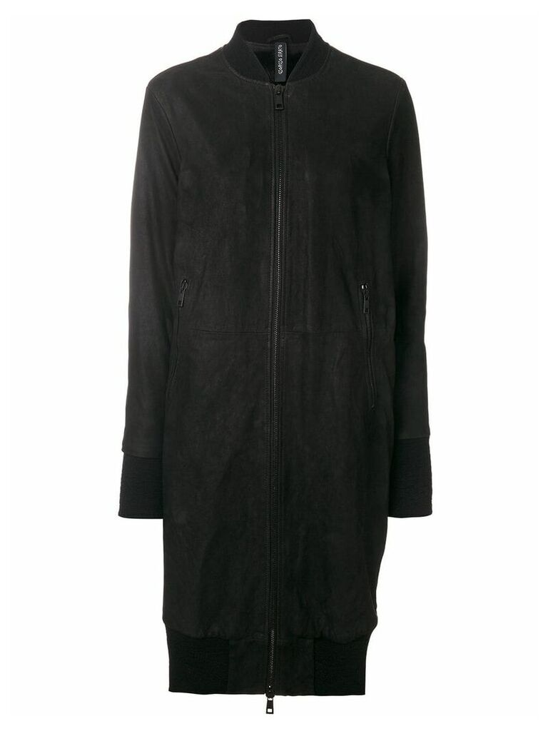 Giorgio Brato oversized bomber jacket - Black