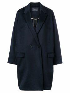 Isabel Marant Filipo oversized overcoat - Blue