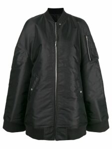 Rick Owens oversized bomber jacket - Black