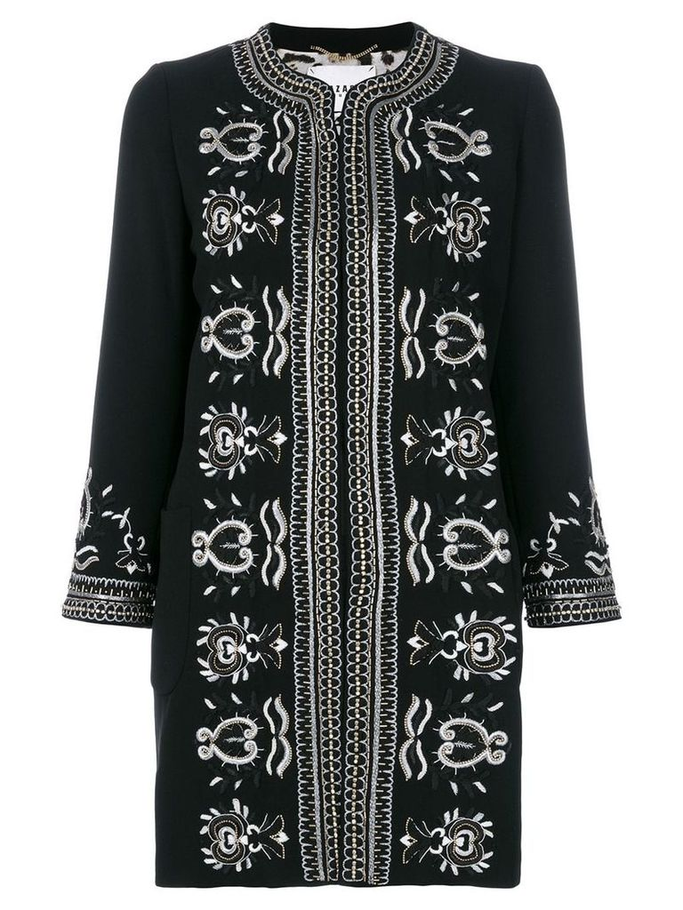 Bazar Deluxe embroidered jacket - Black