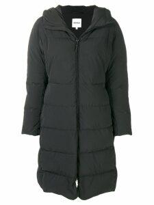 Aspesi feather-down hooded coat - Black