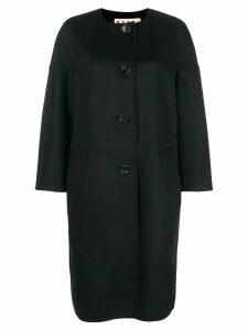 Marni buttoned coat - Black