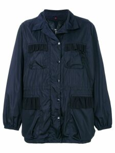 Moncler detachable gilet rain jacket - Blue