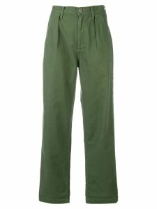 Citizens Of Humanity relaxed cropped jeans - Green