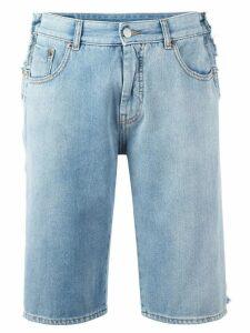 Mm6 Maison Margiela denim shorts - Blue