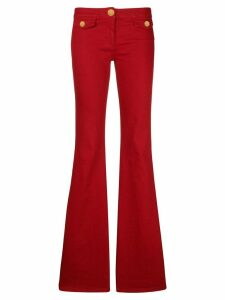 Balmain wide-leg jeans - Red
