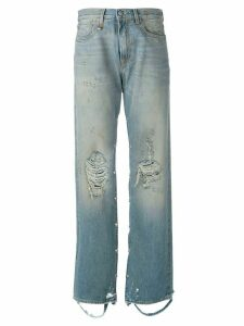 R13 straight jeans - Blue