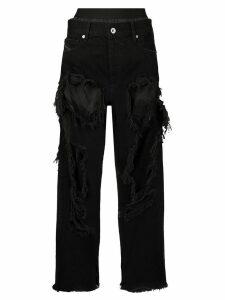 Diesel De-Ika distressed jeans - Black