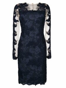 Olvi´S lace-embroidered midi dress - Blue