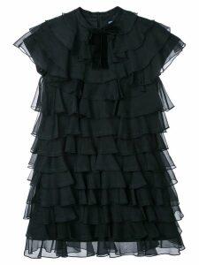 Macgraw Bon Bon silk dress - Black