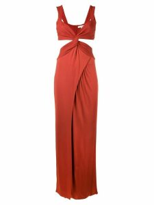 Galvan Horizon dress - Red