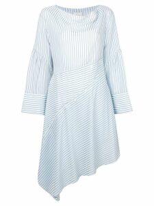 3.1 Phillip Lim striped asymmetric dress - Blue