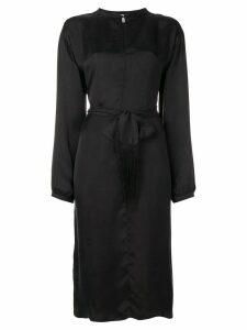 Forte Forte loose-fit shirt dress - Black