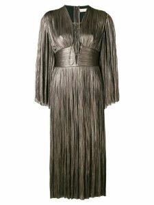 Maria Lucia Hohan pleated midi dress - Grey