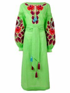 Yuliya Magdych 'Eden Tree' dress - Green