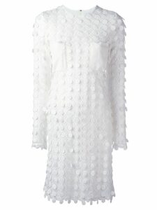 Carven embroidered dress - White