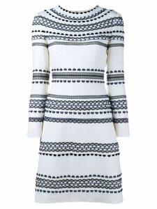 Huishan Zhang 'Estella' shift dress - Neutrals