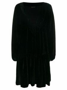 Plein Sud flared wrap dress - Black