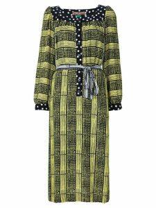 Duro Olowu printed tunic dress - Black