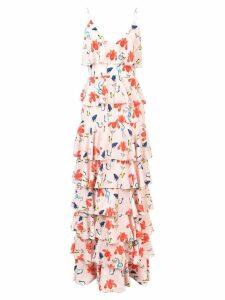 Borgo De Nor Filipa floral tiered dress - PINK