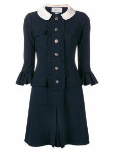 Gucci ruffled dress - Blue