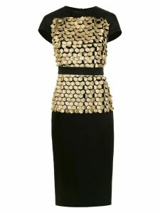 Gloria Coelho Colmeia dress - Black