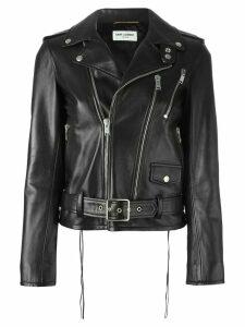 Saint Laurent classic motorcycle jacket - Black