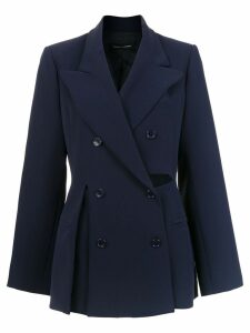 Gloria Coelho Smoking blazer - Blue