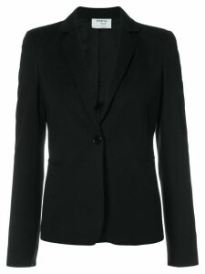 Akris Punto fitted single-breasted blazer - Black