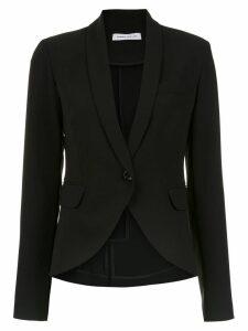 Gloria Coelho Crepe smoking blazer - Black