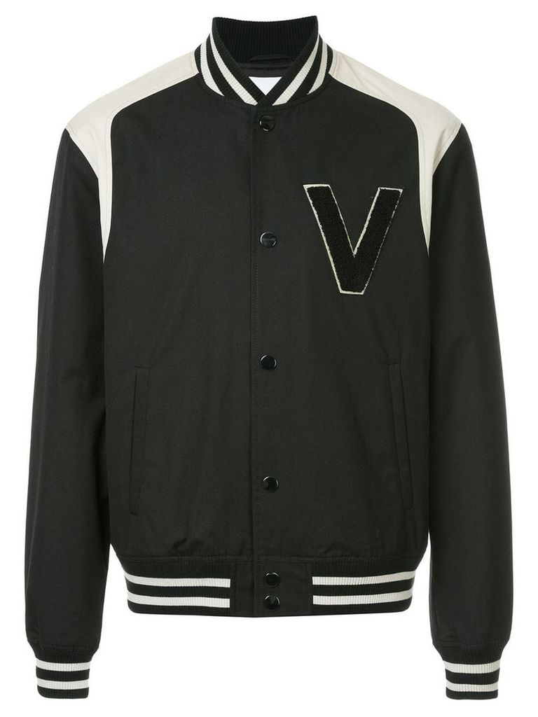 Ports V logo bomber jacket - Black