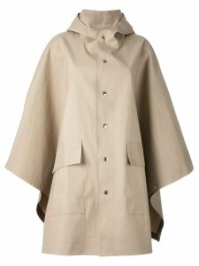 Mackintosh cape jacket - Neutrals