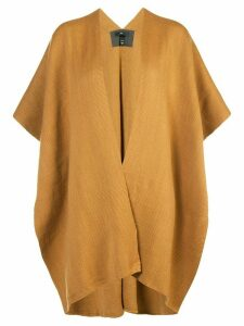 Voz knitted poncho - Yellow