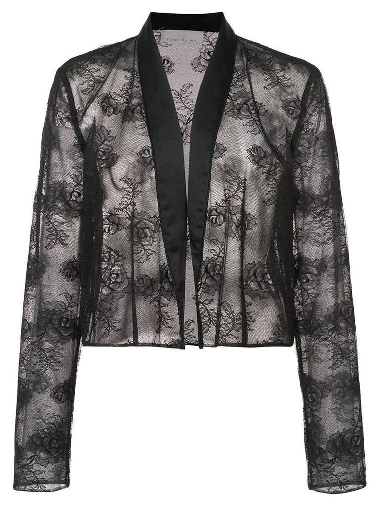 Fleur Du Mal lace jacket - Black